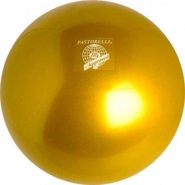 RSG-Ball,goldfarben, 18cm, FIG approved, »New Generation« von Pastorelli – Bild 1