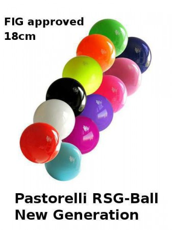 RSG-Ball,rot ,18cm, FIG approved, »New Generation« von Pastorelli – Bild 2